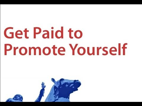 How to get paid for promoting yourself? Follow this strategy and you will never use paid ads again
