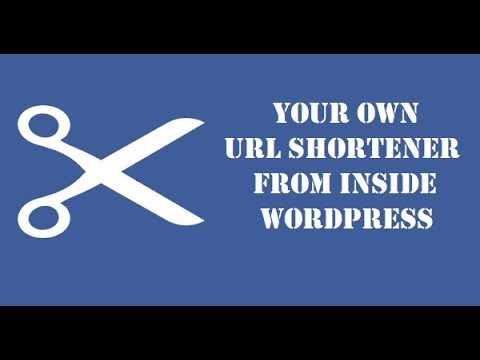 How to create your own URL shortener from WordPress? Forget about bitly and other shorteners