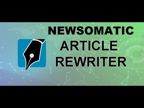 Newsomatic tutorial: how to use the text spinner feature of the plugin?