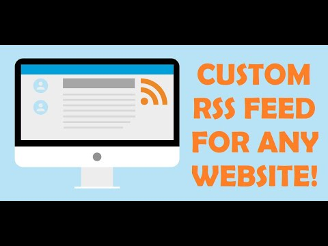How to generate an RSS Feed for any website (or even YouTube, Facebook, Twitter or Reddit)?