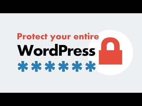 How to password protect WordPress using cPanel? Easy method!