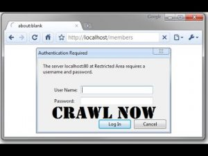 Crawlomatic: how to scrape pages that are protected by HTTP a password?