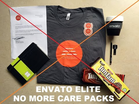 Envato Elite Program is changing – no more commercial space flights or care packs!