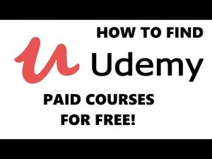 How to find Udemy Paid Courses that are 100% Free to Enroll?