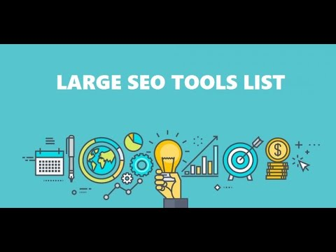 Check this Large SEO Tools List I Found