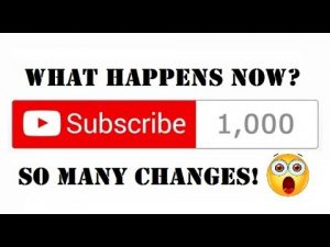 What Happens to Your Channel When You Reach 1,000 Subscribers On YouTube? [ CodeRevolutionTV ]
