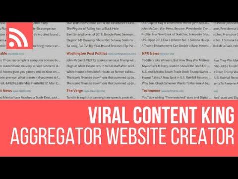 Viral Content King – RSS Feed Aggregator WordPress Plugin Tutorial