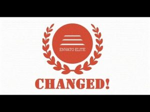 The Envato Elite Program was officially changed, check what changes were made to it