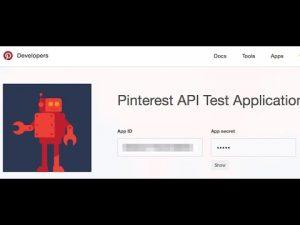 How to apply for the Pinterest API v2 – v1 API will be deprecated soon!