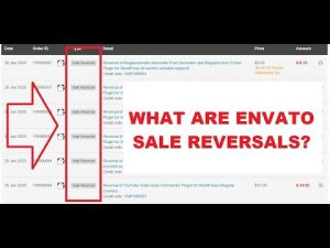 What are Envato Sale Reversals (ThemeForest, CodeCanyon)