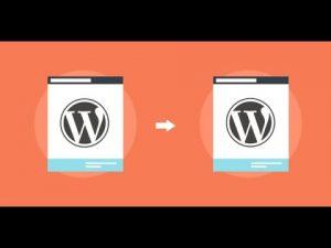 Demo My WordPress update: clone the main website of the multisite install