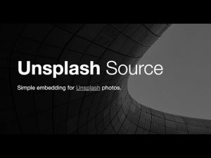 Royalty free featured image importing update: Unsplash added as an image source!
