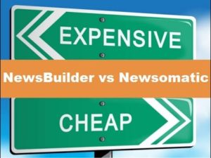 Why is News Builder cheaper than Newsomatic?
