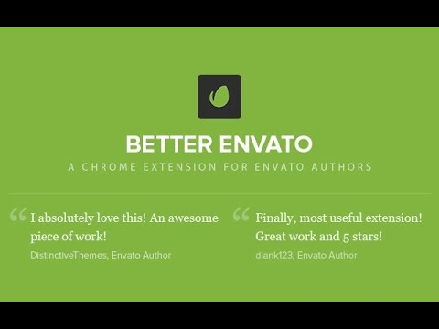 Better Envato Chrome extension review