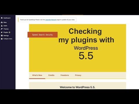 Checking if all my plugins are compatible with the upcoming WordPress 5.5 version update