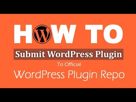 How to upload a new plugin to the official WordPress.org plugin repository?