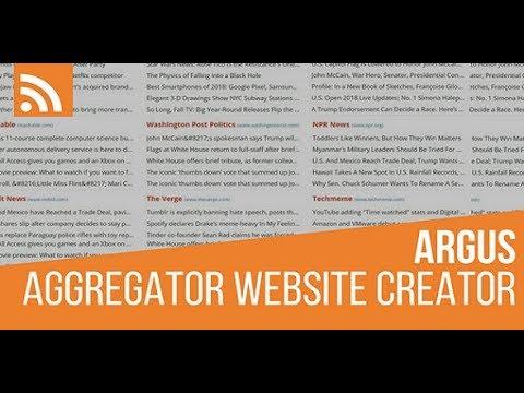 #RespectTheElders – Argus RSS Feed Aggregator Plugin for WordPress – Plugin no longer available