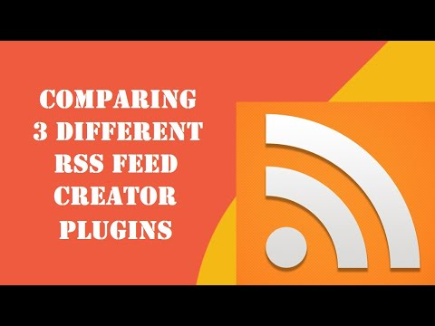 Which plugin to choose: Echo RSS or URL To RSS or RSS Transmute? [Create custom RSS feeds]