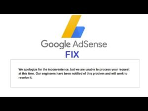 """Fix AdSense """"We are unable to process your request at this time."""" – uBlock origin incompatibility"""