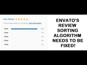Envato item star rating system should be improved, sorting of plugins and themes by rating is flawed