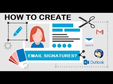 How to create or edit email signatures in Gmail, Yahoo Mail, Thunderbird and Outlook?