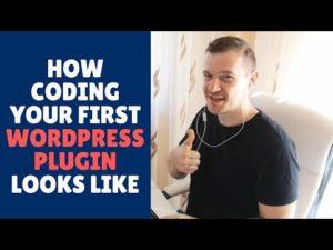 How Coding Your First WordPress Plugin Looks Like