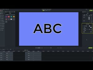 How to Add Text Outline or Text Border in Camtasia – make your Text Visible using this Trick