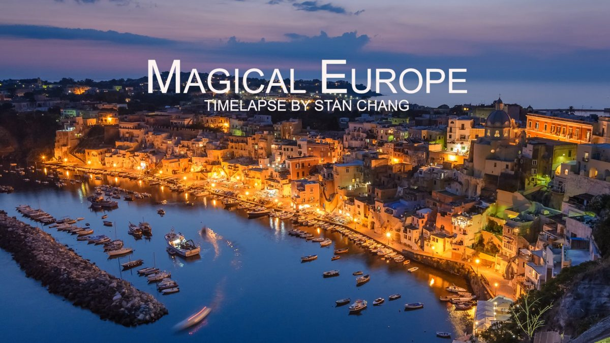 Magical Europe – Timelapse