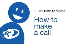 How to make a call with TEL3