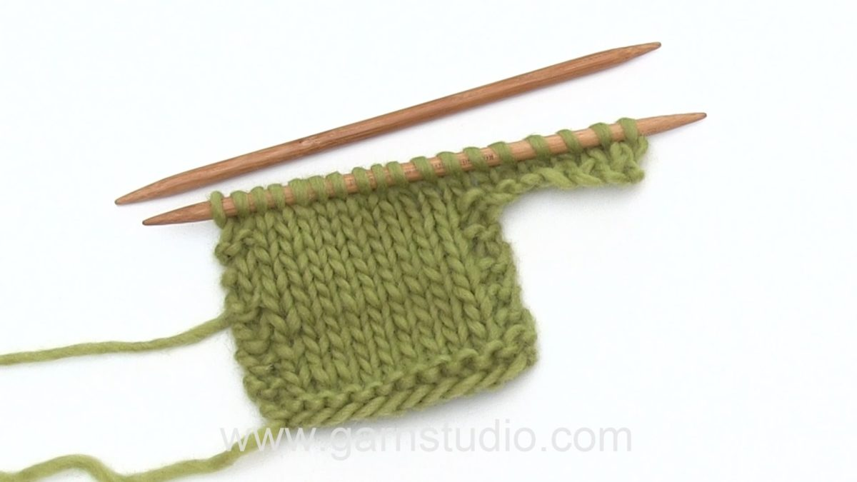 How to cast on new stitches at side of work