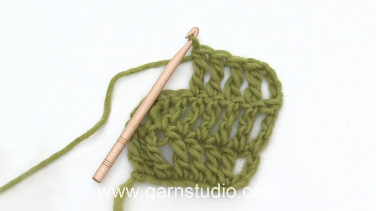 How to crochet a treble (tr) US / double treble (dtr) UK