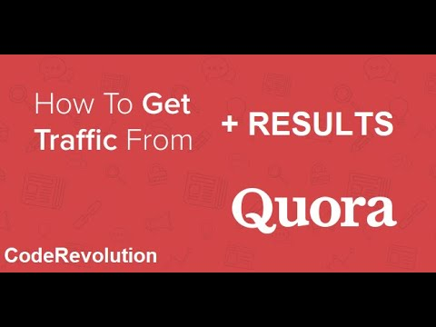 Results for getting free traffic from Quora: 117.9K answer views and counting!