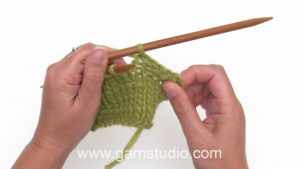 How to bind off from the right side (RS)