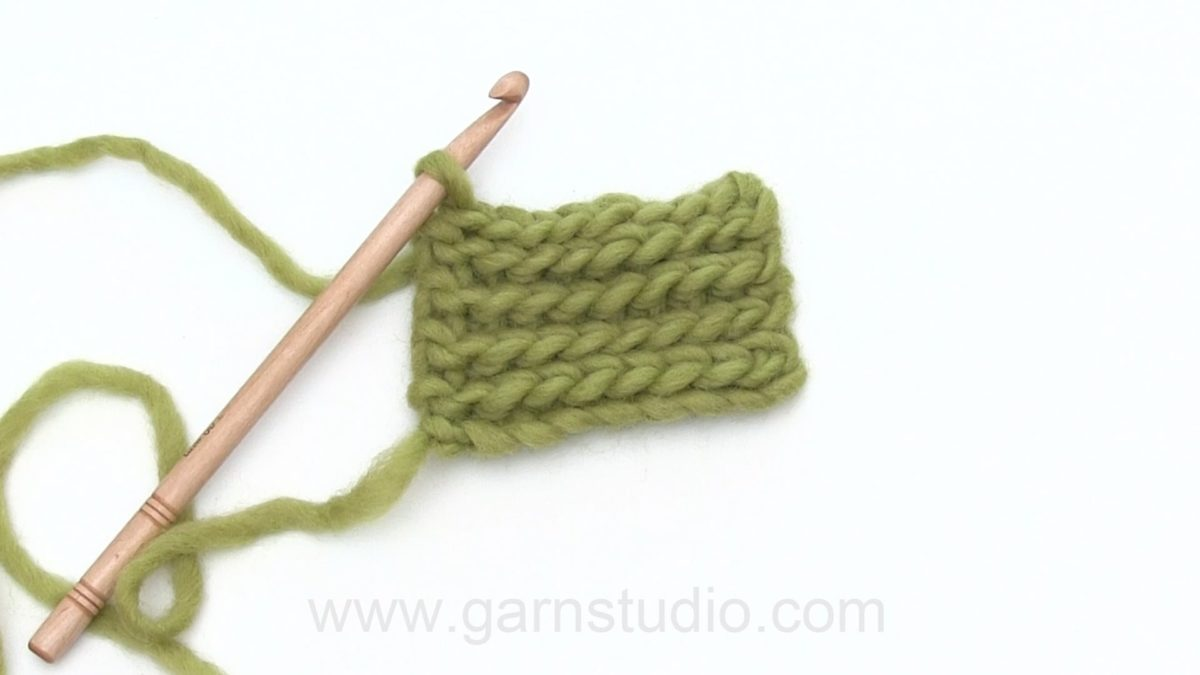 How to crochet a slip stitch (sl st)