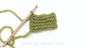 How to crochet a slip stitch (sl st)