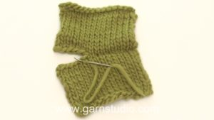 How to sew invisible grafting stitches