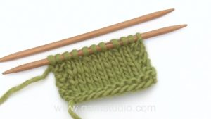 How to decrease by knitting 2 stitches together (K2tog)
