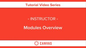 309 – Modules Overview