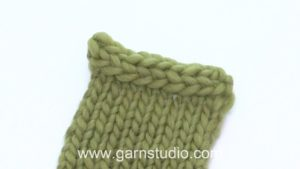 How to bind off with I-cord