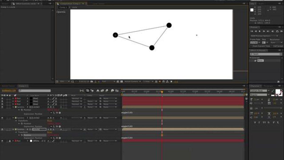 BerkShop Tutorial: Elastic lines in After Effects
