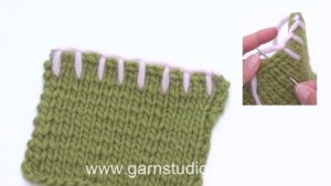 How to sew blanket stitches (buttonhole stitches)