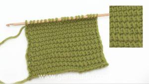 How to do Tunisian (Afghan) crochet
