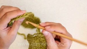 How to crochet squares together