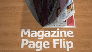 CMD 88: After Effects – Magazine Page Flip