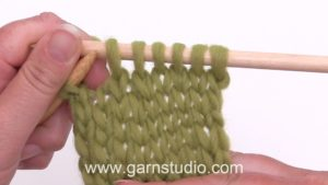 How to decrease: slip, knit, pass (SKP)