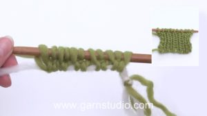 How to make a tubular cast on
