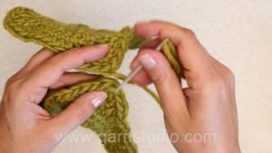 How to sew crochet squares together
