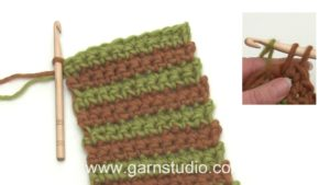 How to crochet stripes