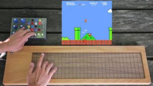 super mario spacetime organ (illucia & soundplane)