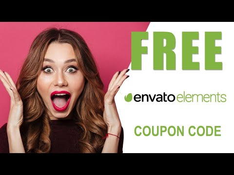 🔥 GET 1 month FREE Envato Elements Subscription COUPON CODE (⏱November 2020) 🔥